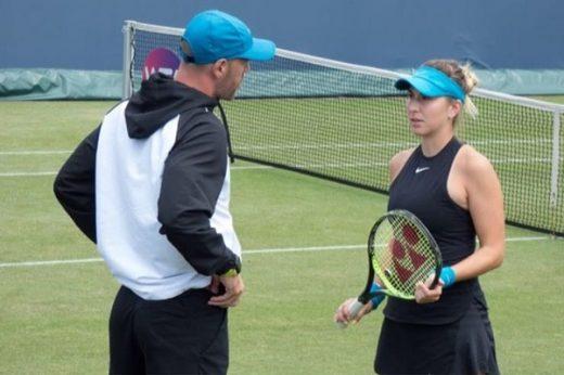 Belinda Bencic relationship with Hromkovic