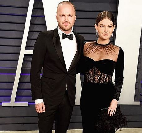 Aaron Paul wife Lauren