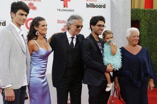 Andrea Bocelli children