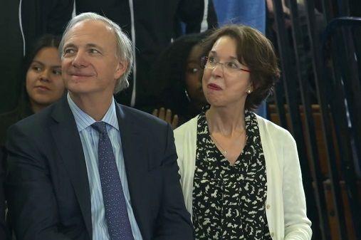 Ray Dalio and wife barbara