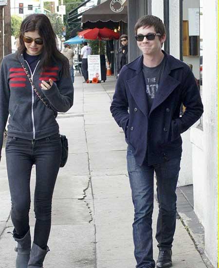 Logan past  relationship with Alexandra Daddario