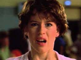 Molly Ringwald cried for her kids name