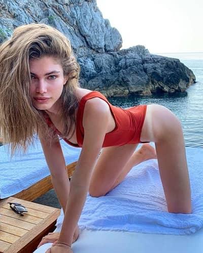 Valentina Sampaio as First Transgender model of Victoria's secret