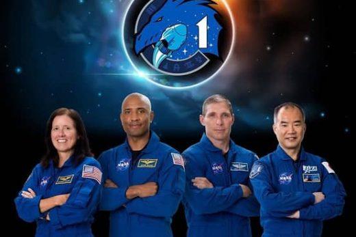 Spacex program astronauts November 13 2020 mission