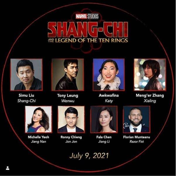 Sang-chi, Mrvel new movie