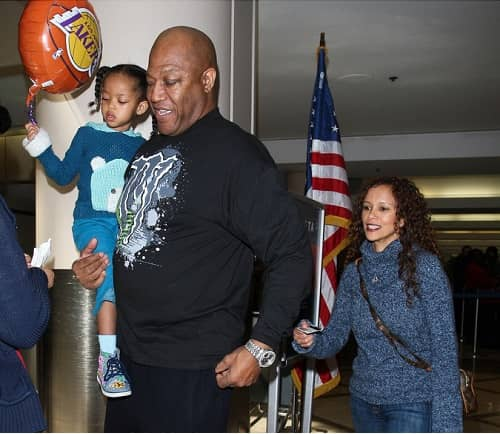 Tommy Lister wife Felicia Forbes and daugther of 13 years old