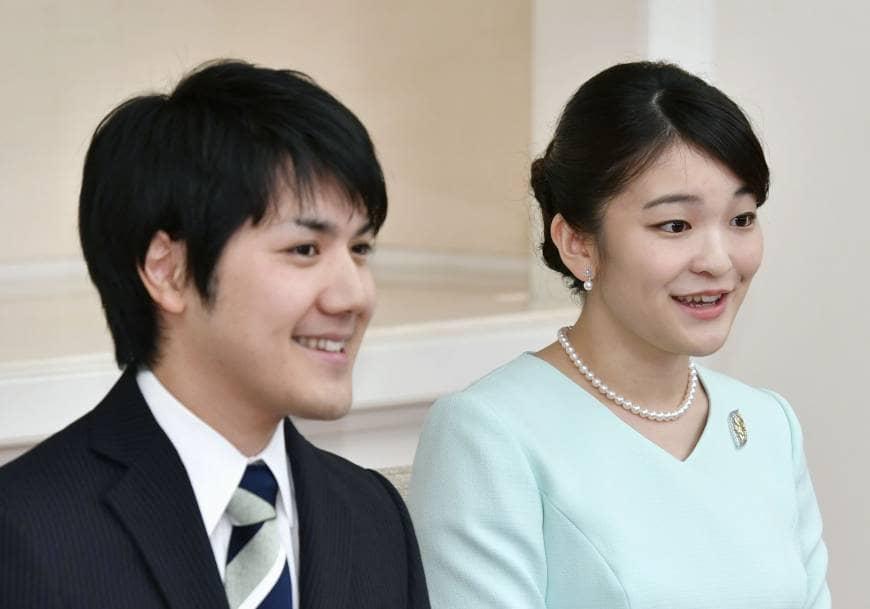 princess mako fiance Prince kei Komuro