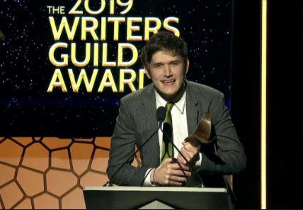 Bo Burnham at the 2019 writers guild awards