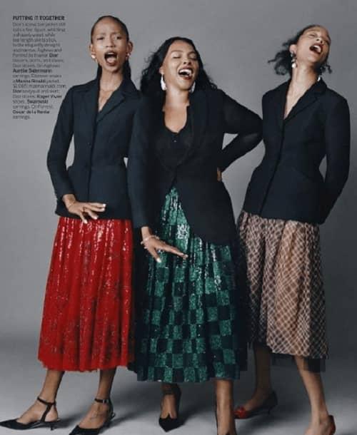 Paloma at America Vogue