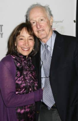 Didi Conn with her husband