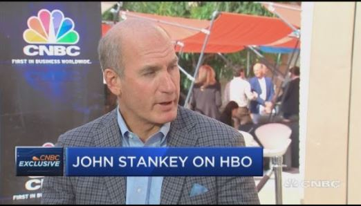 John Stankey on HBO recorded by CNBC news channel