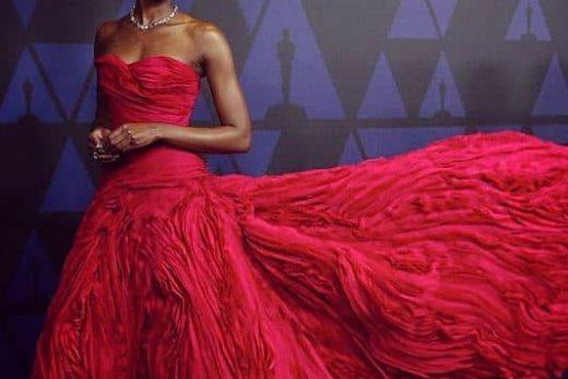 Kiki Layne famous dress