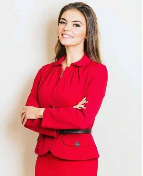 The model Alina Kabaeva career