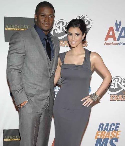 Fred Taylor with wife