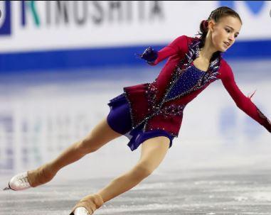 Anna Shcherbakova broke her leg