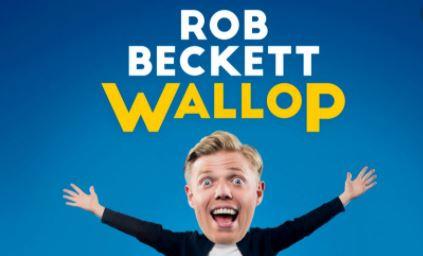 Rob Beckett new show poster Wallop