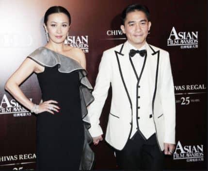 Tony Leung Chiu-Wai's wife
