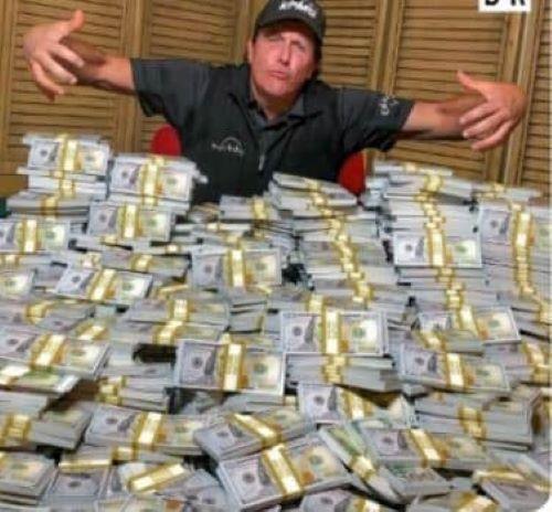 Phil Mickelson net worth