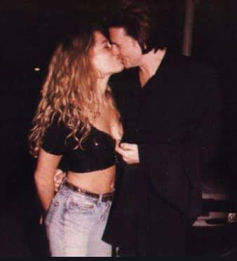Amanda de Cadenet with husband John Taylor