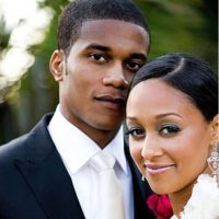 Tia Mowry profile with her husband