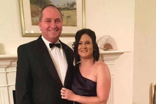 Barnaby Joyce with wife