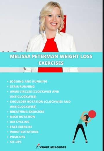 Melissa Peterman exercise